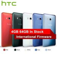 HK версия HTC U11 4 г LTE мобильный телефон Snapdragon 835 Octa core IP67 Водонепроницаемый 6 ГБ Оперативная память 128 ГБ встроенная память 5.5 дюймов 2560×1440 P 3000 мАч