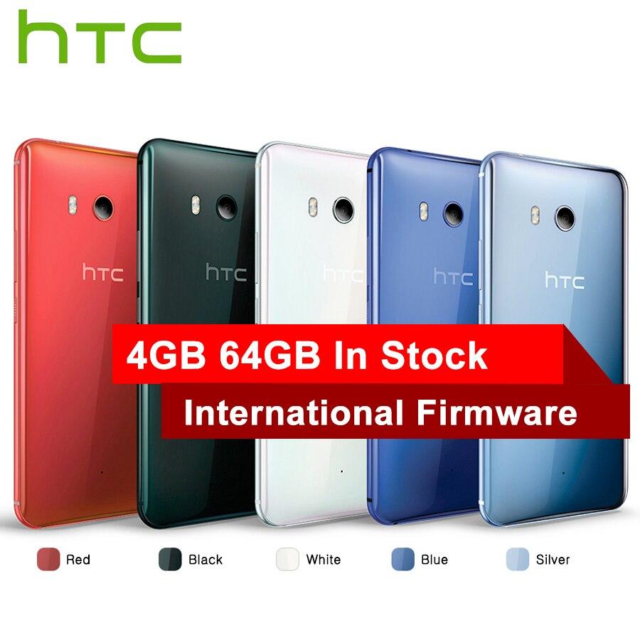 Venda quente HTC U11 4G Telefone Móvel LTE Snapdragon 835 Núcleo octa IP67 6 GB de RAM de 128 GB À Prova D' Água ROM 5.5 polegada 2560x1440 p Telefone Inteligente
