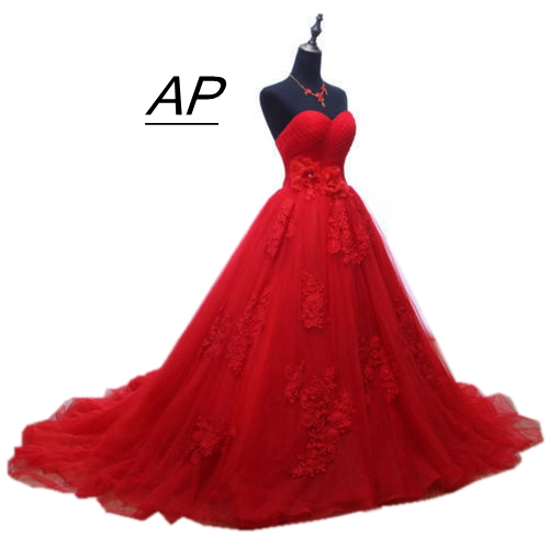 ANGELSBRIDEP Custom Made Sweetheart Tulle Floor Length Ball Gown Quinceanera Dress Charming Appliques Sweet 16 Dress
