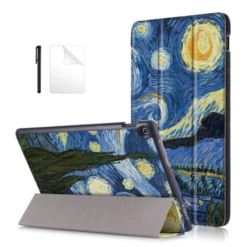 case For Asus Zenpad 10 Z300 Z300CL Z300CG Z300C/M Z300CNL Cover for asus zenpad 10 Z301MLF Z301ML Z301 Tablet Case+flim+Pen