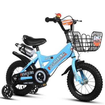 3-8 years old baby toy bicycle light walker four wheel bicycle male and female baby universal