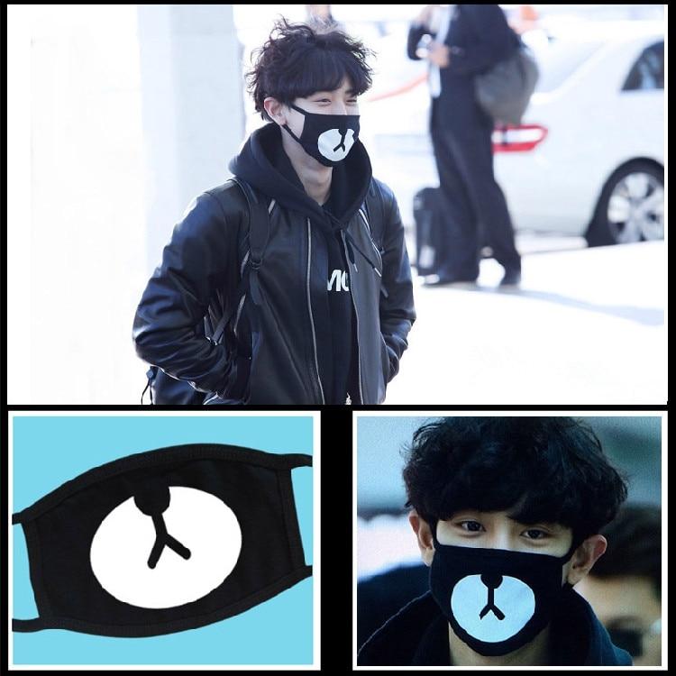 Kpophome EXO Chan Yeol same style cute mask Fashion high quality star goods ...