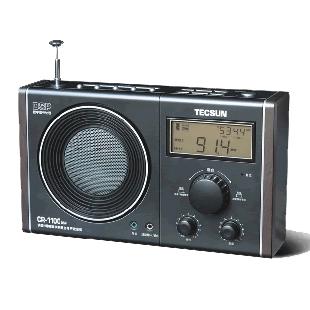 Fm cr-1100dsp teh hijo estéreo digital fuente de alimentación de radio