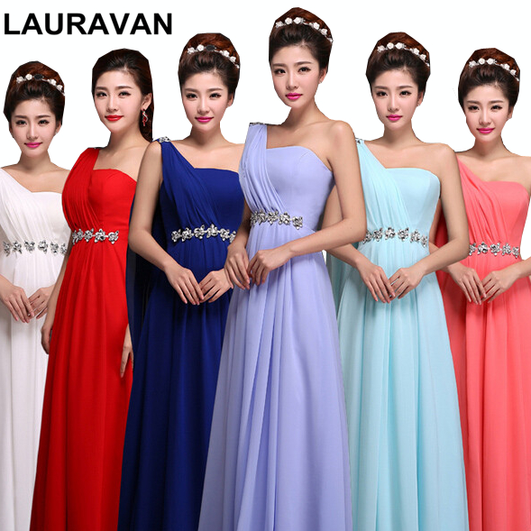 long one shoulder purple peach burgundy tops for women royal blue bridesmaid dresses bridal dress watermelon red gown