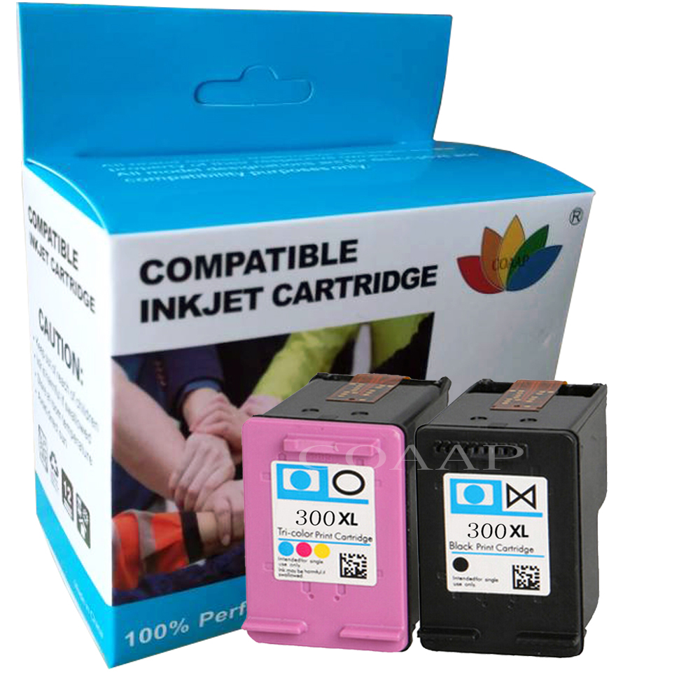 COMPATIBLE INK FOR HP 300 XL CC641EE & CC643EE PRINTER CARTRIDGE FOR HP DESKJET F2492 F4210 F4224 F4272 F4280 F4580 F4583 F4288