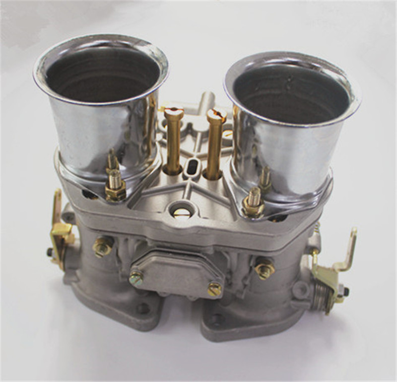 Nouveau 44 Idf 44idf 44mm Fdi Carburateur Oem Carburateur + Air Cornes Remplacement Avec Joint Pour Solex Dellorto Weber Empi