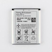 Оригинальный sony bst-33 аккумулятор для sony ericsson k530 k550 k630 k660i k790 k790i k800 k800i k810 k810i 1000 мАч