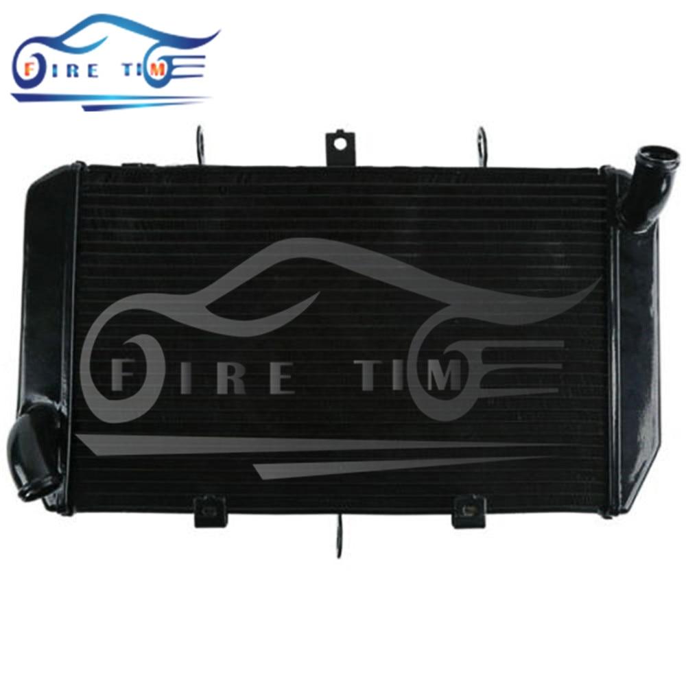 2015 new style motorcycle radiator aluminum motorbike cooler radiator black color For Kawasaki Z1000 Z 1000 2010 2011 2012 2013