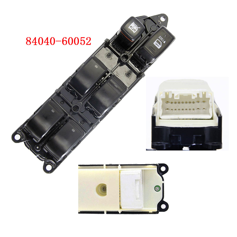 цены 84040-60052 Power Window Master Switch For Land Cruiser Prado Lexus Rx330 GX470 Rx350 Rx400h 2003-2009