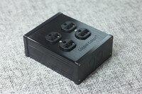 נחושת צבע באיכות גבוהה 4 יציאת AC Socket שקע חשמל סטנדרטי נחושת טהורה ארה