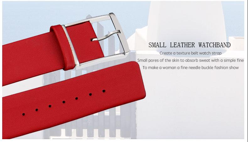 DOM: Reloj de pulsera de lujo para mujer 10