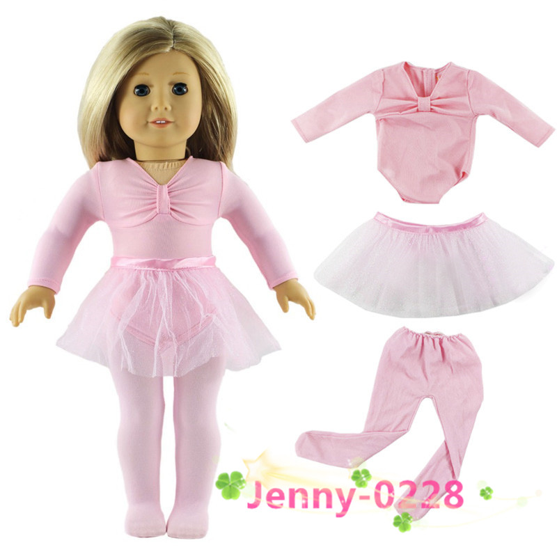 TOP QUALITY PINK TIGHTS FIT AMERICAN GIRL DOLLS