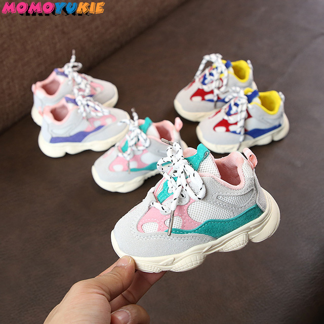 2019 1-3years baby boys and girls toddler shoes infant sneakers newborn soft bottom first walk non-slip fashion shoes 1