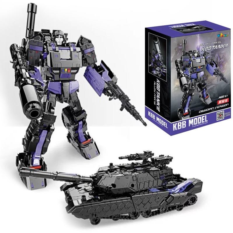 KBB Dark TANK Dark Black Version Transformation Megatron Alloy 11 LG-13 Robot
