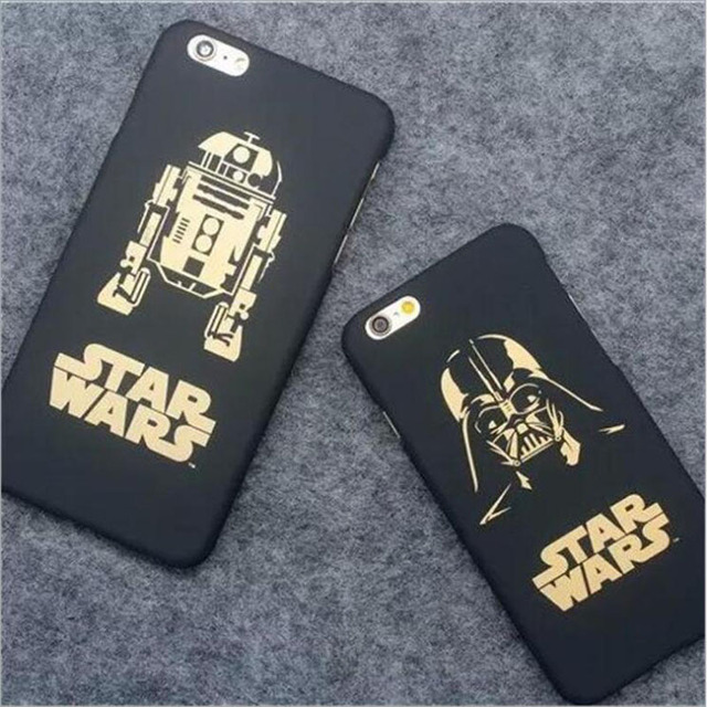 Star Wars Movie Slim Hard Matte Plastic  Cover for iPhone 6 6s 5 5s