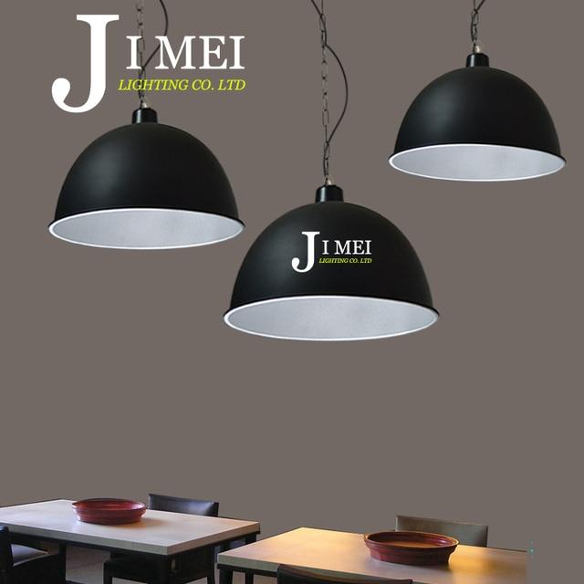 3pcs Industrial Light factory lamp shade pendant lights supermarket ...