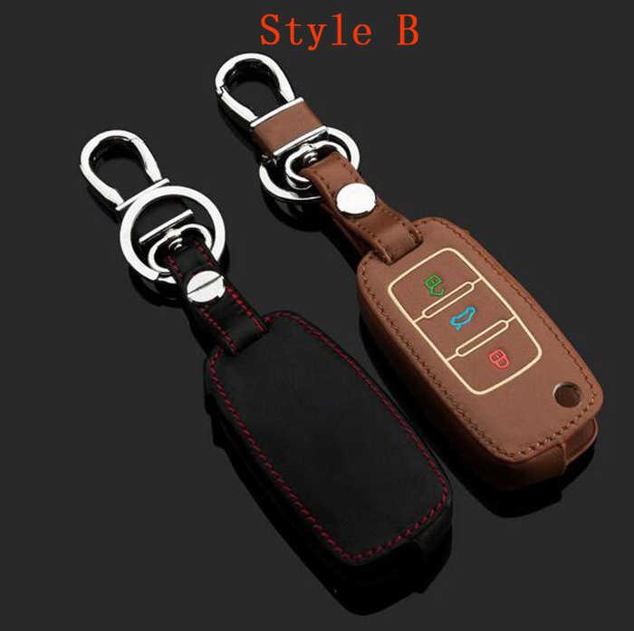 Ключи от машины чехол световой кожаный брелок кольцо крышки, цепочка для Фольксваген Das авто гольф 7 сагитар-маготан Tiguan Bora