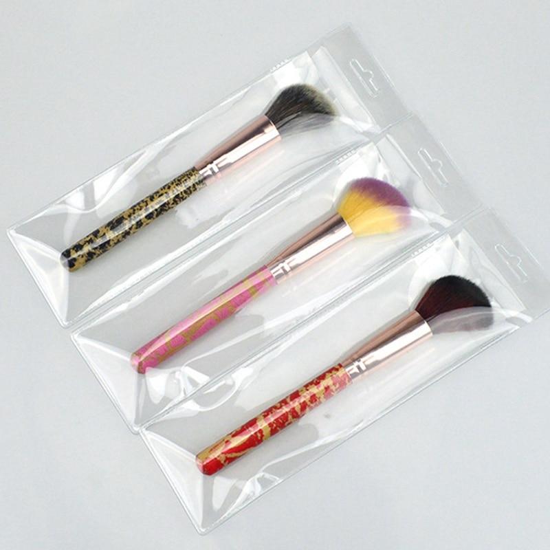 1Pc Beauty Women Powder Brush Single Soft Face Cosmetic Makeup Blush Brushes Big Loose Shape Maquiagem Hot Selling Tools
