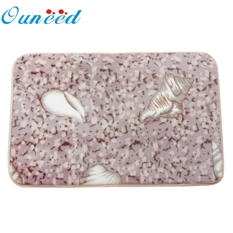Ouneed 1PC Memory Foam Mat Bath Rug Shower Non-slip Floor Carpet*20 Gift Drop
