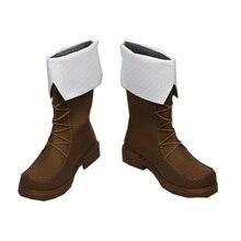 Spada Arte Online Alicization Eugeo Kirito Cosplay Boots Anime trasporto Scarpe Su misura