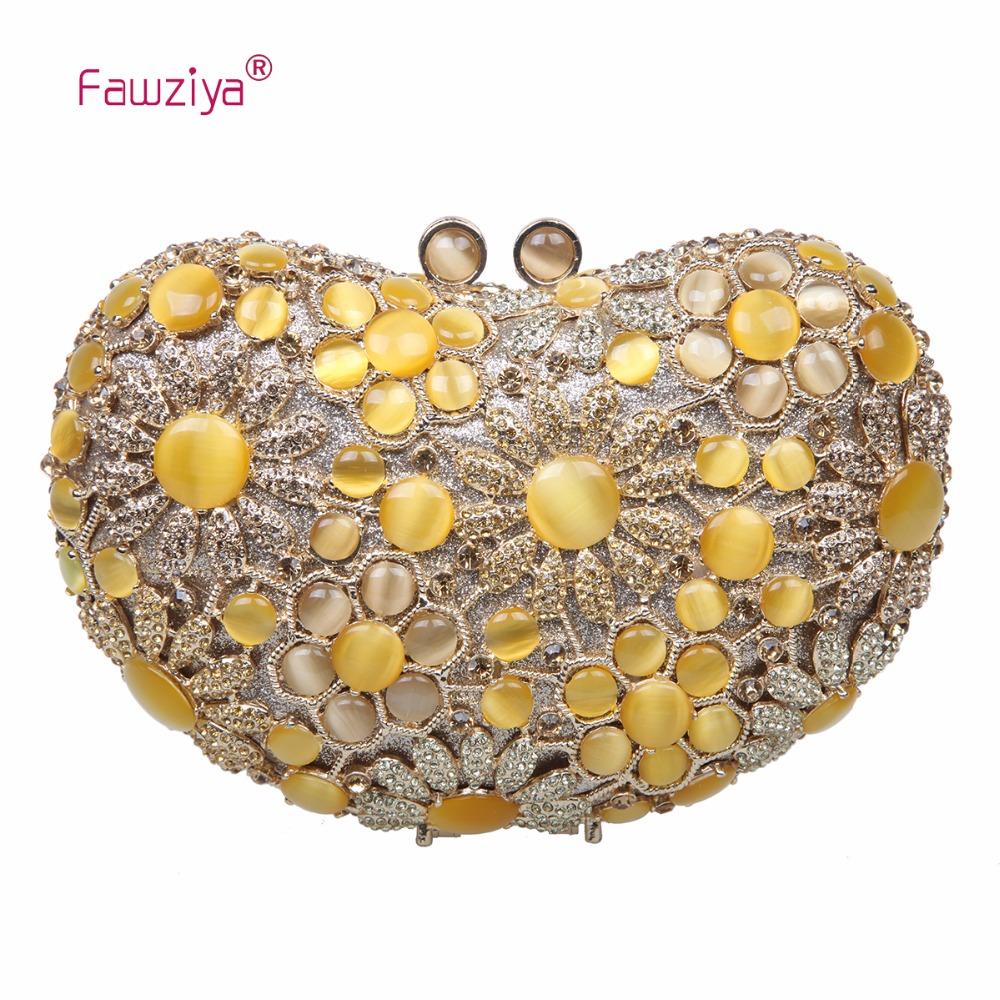 Fawziya Womens Purses Totes Man Made Cat's Eye Stone Clutch Bags For Womens Clutch Purses And Handbags fawziya womens handbags and purses man made cat s eye sunflower clutch bag for women purse