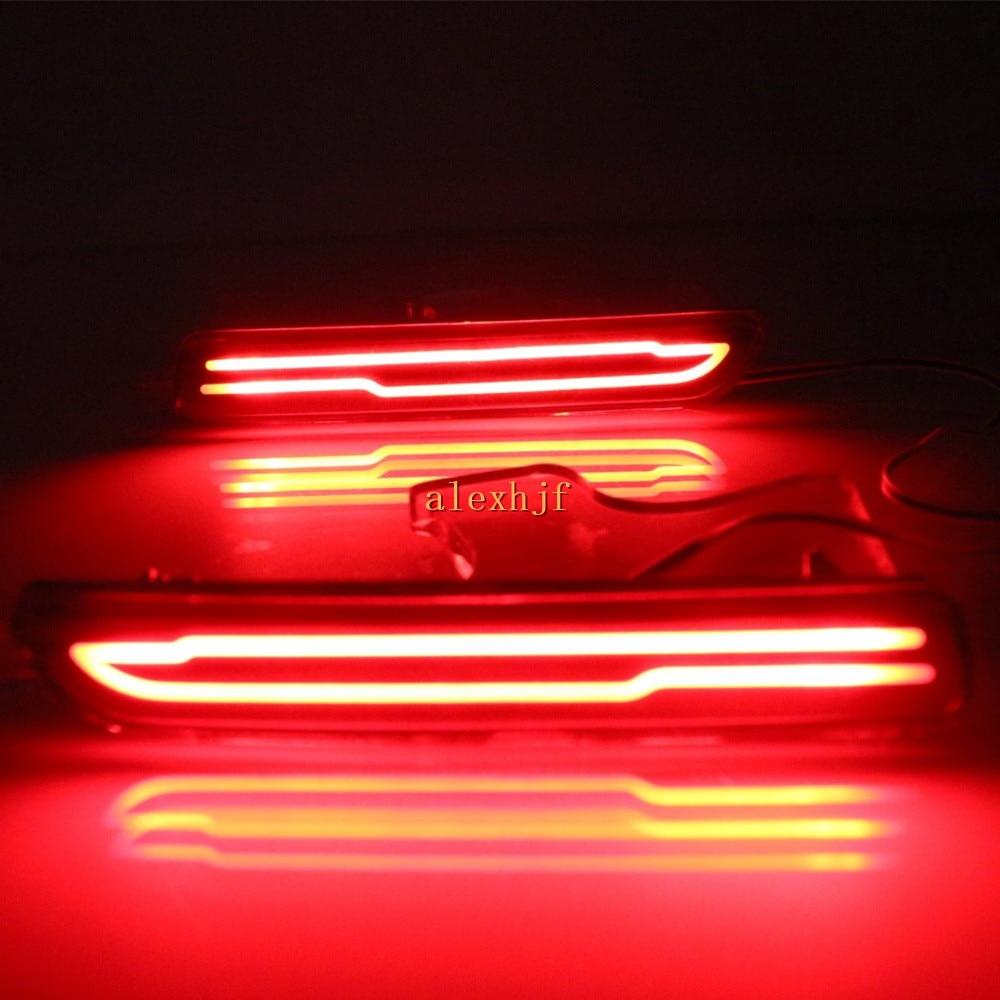 July King LED Panduan Cahaya Lampu Rem + Night Driving Lights Case - Lampu mobil - Foto 2