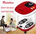 Banho do pé massagem Automática pedilúvio bacia massagem nos pés de aquecimento Elétrico balde Profunda Bacia Pedicure