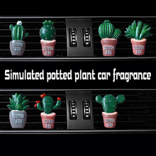 Simulated Potted Plants car Air conditioning outlet perfume interior accessories fragrance
