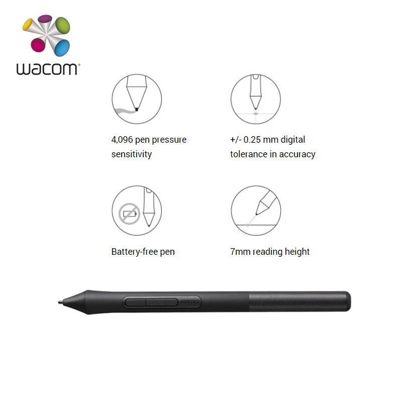 Tablette de dessin graphique Wacom Intuos CTL-4100 tablettes numériques 4096 niveaux de pression (noir/petite taille) - 4