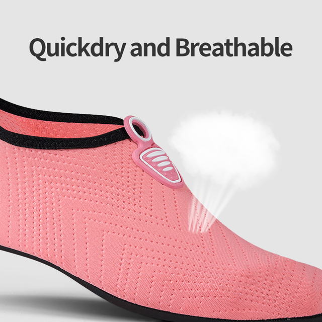 Men Women Beach Summer Outdoor Wading Shoes Swimming Surf Sea Slippers Quick-Dry Aqua Shoes Unisex Soft foldable Water Shoes 1