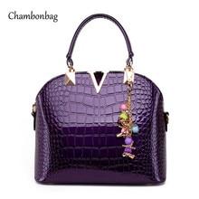 2016 New Arrival Luxury Brand Handbag Famous Designer Classic Women Bags Colorful Ladies Handbag Purple Bags