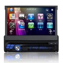 NUEVO Android 5.1.1 jefe unidad de Coches Reproductor de DVD Gps para Universal 1Din DVD Radio 1G + 16G GPS En el tablero PC Del Coche Estéreo vídeo