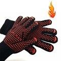 Protetora Cozinhar Ferramentas bakeware tricot Ove Microondas Luva de Forno Calor Prova Resistente Forno Mitts Cozinha Gadgets