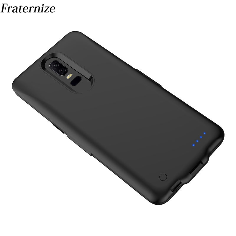 5000mAh Slim Battery Charger Case for Oneplus 6 Battery Cover Slim External Power Bank Backup shockproof Charging Back Cover5000mAh Slim Battery Charger Case for Oneplus 6 Battery Cover Slim External Power Bank Backup shockproof Charging Back Cover