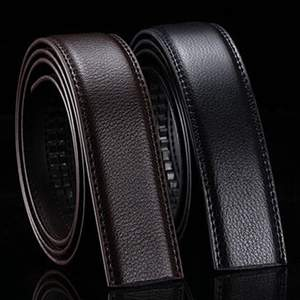 Male Belts Body-Strap No-Buckle Wide Genuine-Leather Brand Men Good-Quality