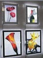 Acrílico cartel de Lightbox lightbox display tripod display package -