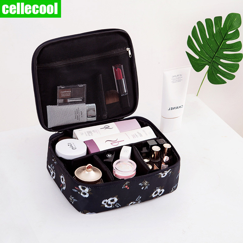 Man Women Travel Necessity Beauty Makeup Bag  Multifunction Organizer Big capacity Waterproof Portable Cosmetic