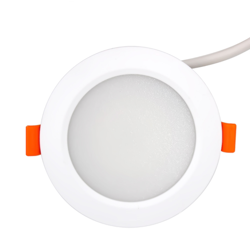 2018 7 W ZLL ZigBee Smart Downlight Led Bulb Light voice control by Alexa echo or google home via Zigbee Bridge zigbee bridge led rgbw 5w gu10 spotlight color changing zigbee zll led bulb ac100 240v led app controller dimmable smart led