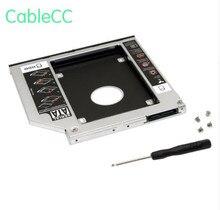 Cablecc SATA 22pin HDD HD жесткий диск Корпус для жесткого диска чехол для 12,7 мм Универсальный ноутбук CD/DVD-ROM Оптический Bay