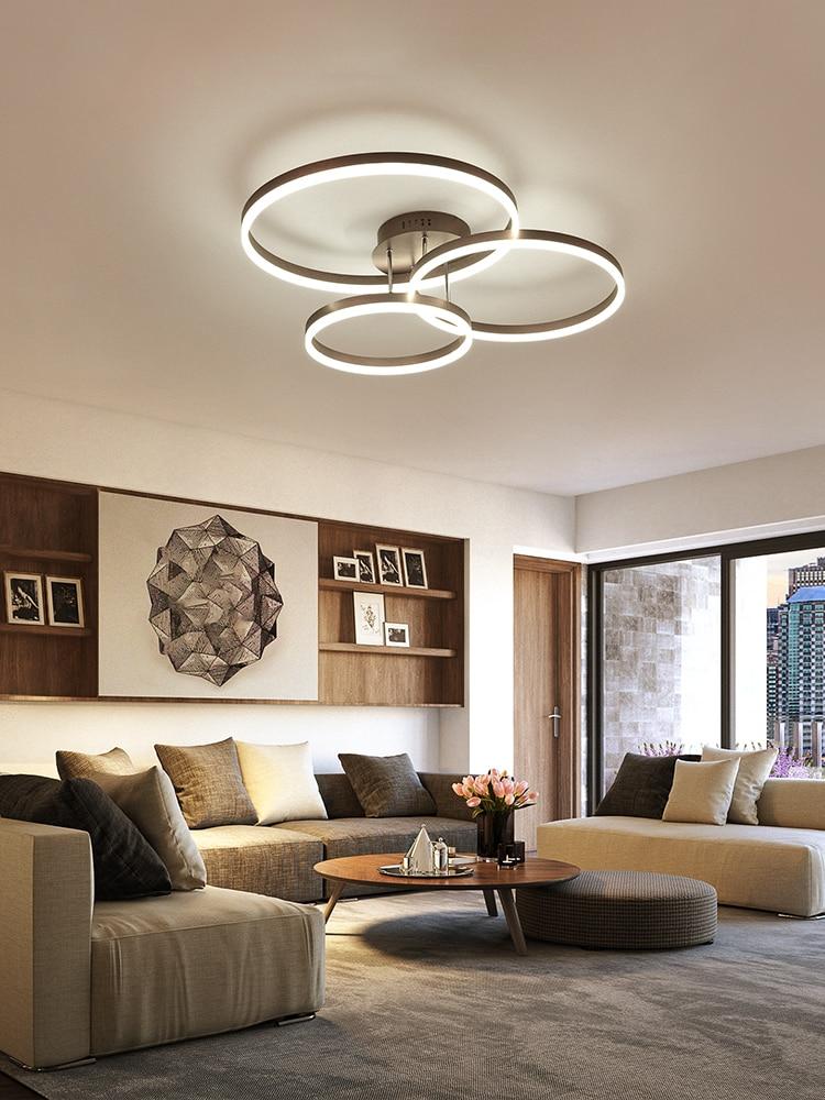 Die wohnzimmer lampe ist einfache und moderne. Atmosphärischen startseite led deckenleuchte kreative schlafzimmer lampe neue halle lampe-in Deckenleuchten aus Licht & Beleuchtung bei Shop3664006 Store