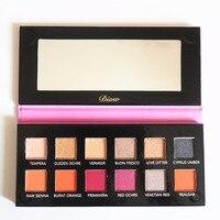 DIOW Makeup Eyeshadow Pallete 12 Colors Professional Nake Shimmer Matte Eye Shadow Makeup Pallete