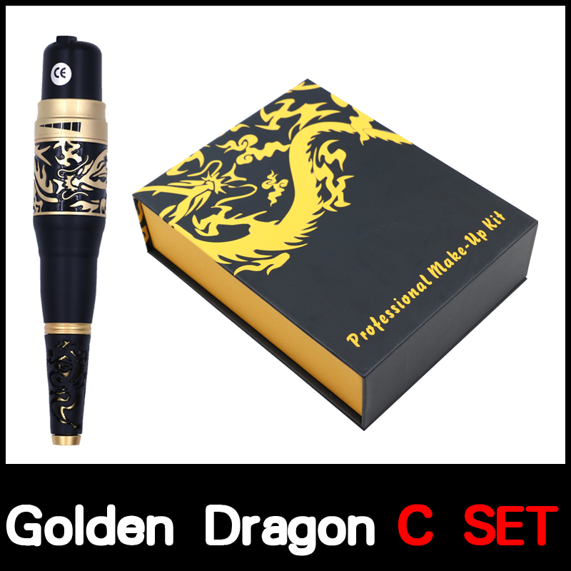 high quality Permanent Makeup Golden Dragon tattoo Machine kits Taiwan Original Permanent Makeup Machine eyebrow tattoo gun permanent makeup rotary tattoo machine tattoo gun for learner use