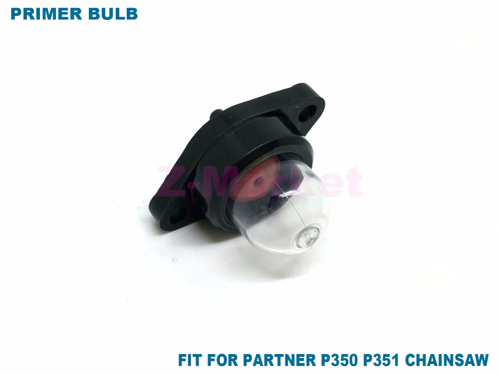 10 шт. Карбюраторы для мотоциклов Праймеры лампы Инжектор топлива для партнер P350 p351 p370 p371 p390 P420 бензин Бензопилы Запчасти