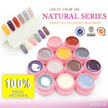 #30611B  CANNI Nail Salon  Natural Series Color Gel  Soak Off UV/LED Gel Lacquer Kit