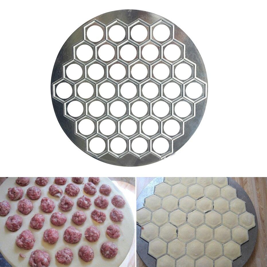 Pastry-Cutter Dumpling-Maker Pelmeni-Mold Ravioli 37-Holes Aluminum Basedidea Meat