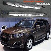 Для Chevrolet Captiva 2015 2016 2017 2018 бег панели авто подножка бар педали для автомобиля Высокое качество Фирменная Новинка зерна дизайн Nerf бары