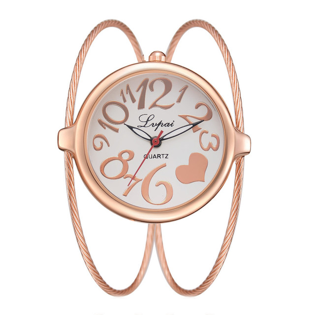 Lvpai Women's Casual Quartz Watches Bracelet Watch Analog Wrist Watches Gifts Wo