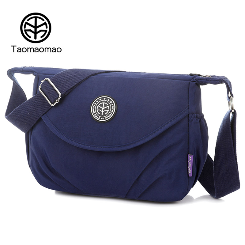 Taomaomao New Waterproof Nylon Bags For Women Shoulder Bags Casual Multilayer Bag High Quality Women Bags Ladies Handbags WH593 2016 autumn and winter new casual waterproof nylon shell bag soft bag portable women shouid bags dd5023