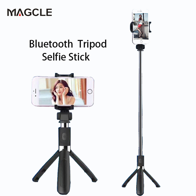 Magcle Wireless Bluetooth Selfie Stick Mini Tripod Extendable Monopod Universal For iPhone 8 X 7 6s Plus For Samsung drop ship