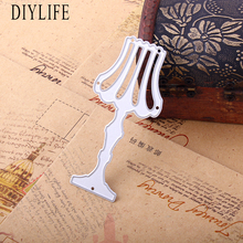 High Quality 40x90mm Table lamp Metal Cutting Dies for Scrapbooking Embossing DIY Accessories
